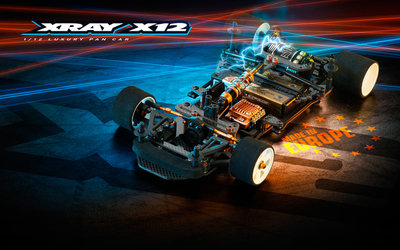 XRAY X12'20 EU SPECS - 1/12 PAN CAR - 370011