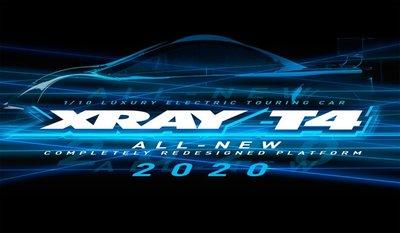 XRAY T4 - 2020 SPECS - 1/10 LUXURY ELECTRIC TC - ALU - 300027
