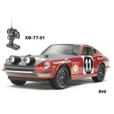TAMIYA 1/10 Datsun 240Z Rallye TT-01 Type E Chassis  - 58462