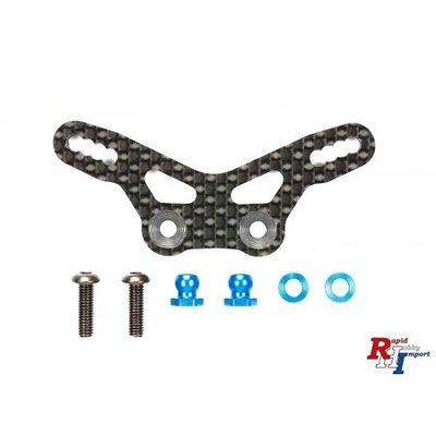 TAMIYA M-07 Carbon Damper Stay rear - 54762