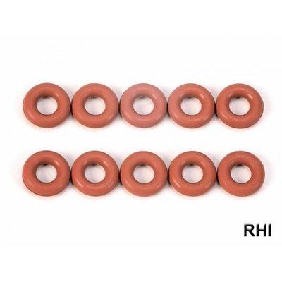TAMIYA Damper O-Ring 3x6mm red (10) - 50597