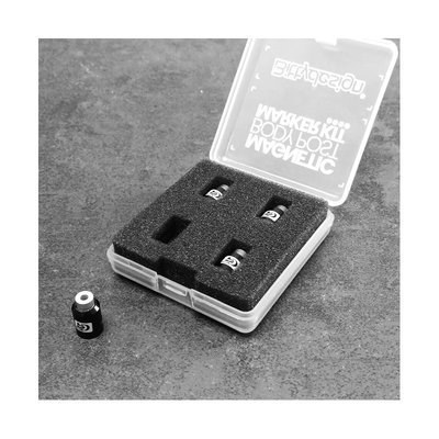 Bittydesign Magnetic Body Post Marker Kit - Color : Black - BDBPMK10-B