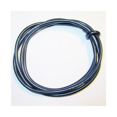 TQ Wire 1000 14 3' Black Gauge Wire - 1431