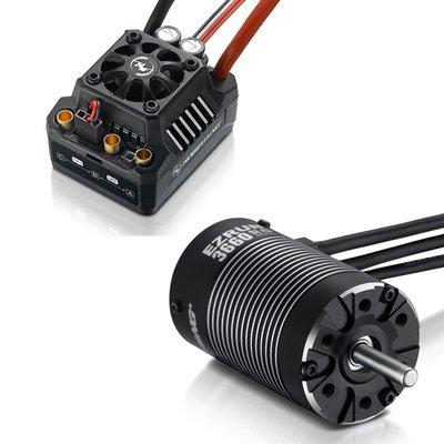 Hobbywing EzRun Combo MAX10 SCT 3660SL, 4600kv, 1/10 Waterpr - 38010202