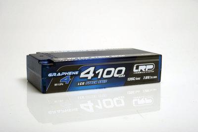 LRP HV LCG Stock Spec Shorty GRAPHENE-4 4100mAh Hardcase Akku - 7.6V LiPo - 135C/65C - 431275
