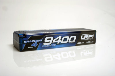 LRP HV Stock Spec GRAPHENE-4 9400mAh Hardcase Akku - 7.6V LiPo - 135C/65C - 431279