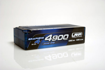 LRP HV Stock Spec Shorty GRAPHENE-4 4900mAh Hardcase Akku - 7.6V LiPo - 135C/65C - 431284