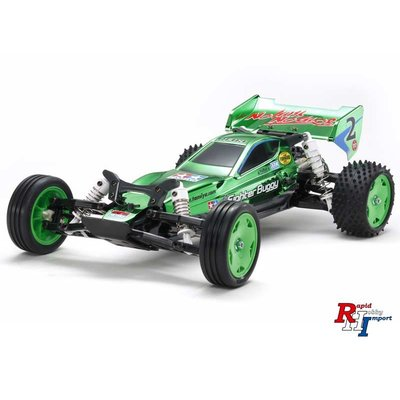 TAMIYA 1/10 RC Racing Fighter (DT-03) Metalic green - 47371