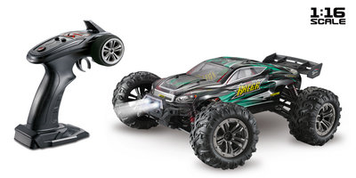 ABSIMA Scale 1:16 4WD High Speed Truggy 2,4GHz Black/Green - 16004