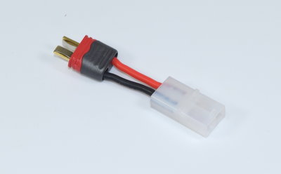 ABSIMA Tamiya female battery plug to T-plug (Deans) male plug - 3040022