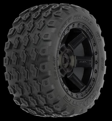 Proline Dirt Hawg 2.8 (Traxxas Style Bead) All Terrain Tires Moun, PR1175-13 - 1175-13