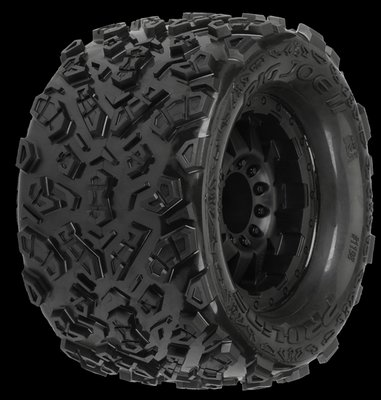 Proline Big Joe II 3.8 (Traxxas Style Bead) All Terrain Tires Mounte, PR1198-13 - 1198-13