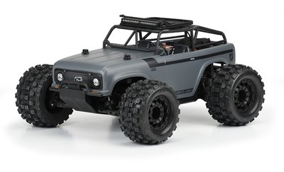Proline Ambush Clear Body with Ridge-Line Trail Cage for PRO-MT 4x4 & Stampede 4x4 - 3504-00
