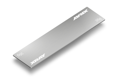 Xray STAINLESS STEEL WEIGHT FOR SLIM BATTERY PACK 35G - 309862