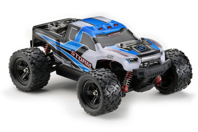 ABSIMA Scale 1:18 4WD High Speed Monster Truck, 2,4GHz Blue - 18006