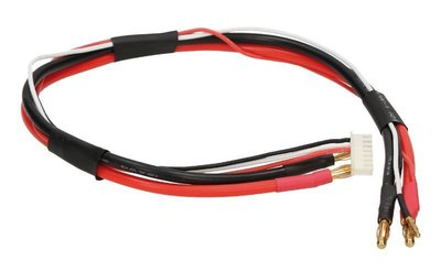 Orion 4mm 2S Pro Balance Charge Lead (45cm, 10AWG/20AWG) - ORI40059