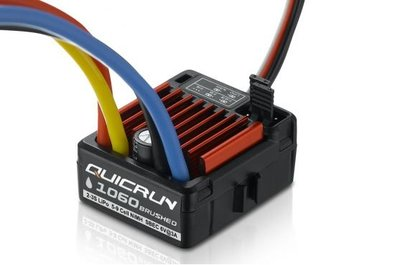 Hobbywing Quicrun 1060, 60a, Brushed Esc, 1/10, Hw30120201 - 30120201