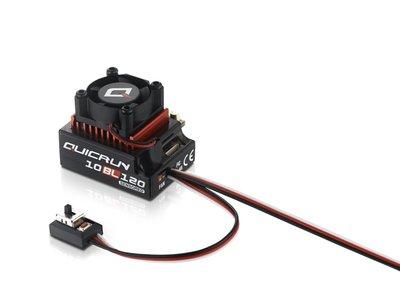 Hobbywing Quicrun 10bl120, 120a, 1/10 Esc Sensored, Hw30125000 - 30125000