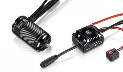 Hobbywing Combo Xerun Axe550 2700kv Foc Sensored Brushless System V1.1 - 38020277