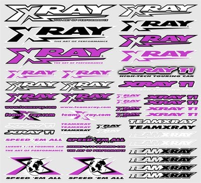 Xray Sticker For Body Purple, X397313 - 397313