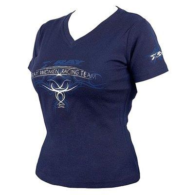 Xray Team Lady T-shirt Dark Blue (l), X395032l - 395032L