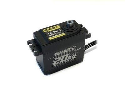 YellowRC 20kg Digital Waterproof Servo Trx2075 Replacement + Free Extension Wire - 2075