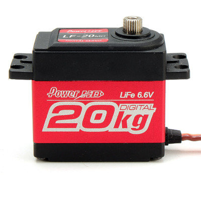 PowerHD 20KG/0.16sec Metal Digital Gear Servo - PHD-LF120MG