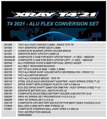 T4 2021 - ALU FLEX CONVERSION SET - 300947