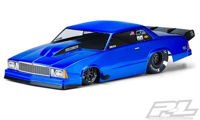Proline 1978 Chevrolet Malibu Clear Body For Slash 2wd Drag Car & Ae Dr10 - 3549-00
