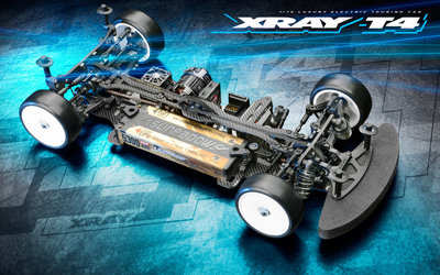 Xray T4'21 - Alu Solid Edition - 1/10 Luxury Electric Tc - 300030