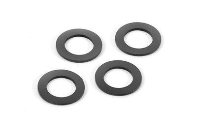 Xray Rubber Shock Absorber Shim For Alu Cap (4) - 368091
