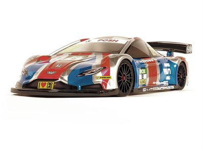 ZooRacing Wolverine 1:10 190mm Touring Car Clear Body - 0.7mm Standard - ZR-0011-7