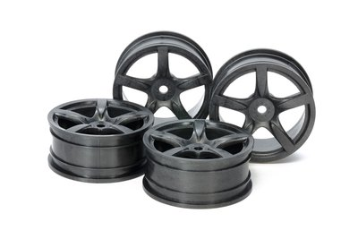 TAMIYA 24MM MED NARROW 5 SP WHEELS - 54739