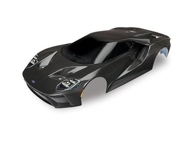 Traxxas Body, Ford Gt, Black (painted, Decals Applied), Trx8311x - 8311X