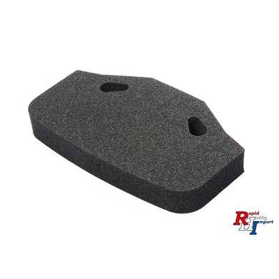 54819 TT-02/01-E XL Uretahn-bumper zwart