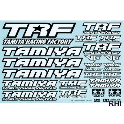 42164, TRF Sticker-Set zwart/wit