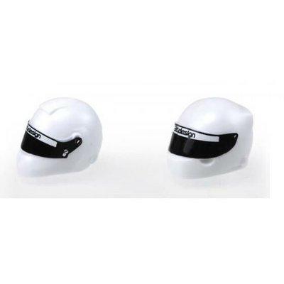 Bittydesign White Plastic Helmet Type-C (universal)