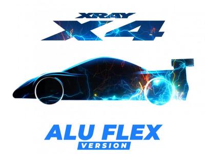XRAY X4 - alu flex EDITION - 1/10 LUXURY ELECTRIC TC