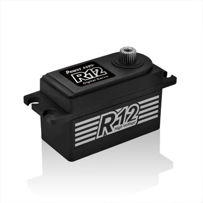PowerHD Black Colour R12 Servo - PHD-R12