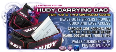 HUDY 1/10 & 1/8 Carrying Bag + Tool Bag - Exclusive Edition - 199120