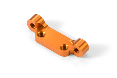 XRAY ALU LOWER GRAPHITE SUSPENSION ARM HOLDER - ORANGE - 372310-O