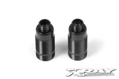 XRAY Alu Front Shock Body - Hard Coated - v2 (2) - 368120