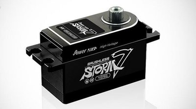 PowerHD Black Colour Storm-7 low-Profile Servo