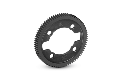 XRAY COMPOSITE GEAR DIFF SPUR GEAR - 80T / 64P - 375780