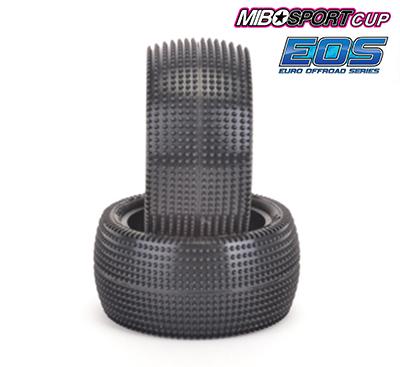 Schumacher Cactus 1/10 - Rear Tyres - Yellow (1 pair) - U6838