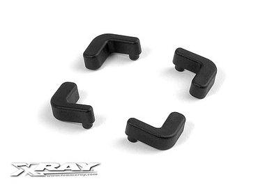 XRAY Composite Lipo Battery Backstop (2) - 376130