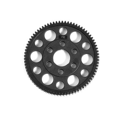 XRAY Offset Spur Gear 78T : 48 Hard - 305778