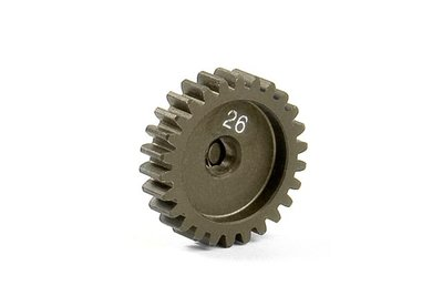 XRAY Narrow Pinion Gear Alu Hard Coated 26T : 48 - 305926