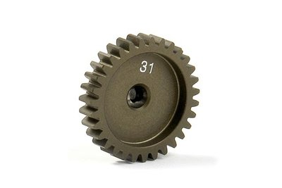 XRAY Narrow Pinion Gear Alu Hard Coated 31T : 48 - 305931