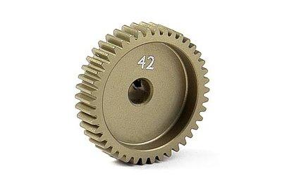 XRAY Narrow Pinion Gear Alu Hard Coated 42T / 64 - 305992